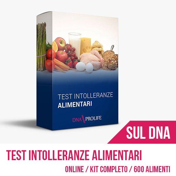 Test genetico per intolleranze alimentari