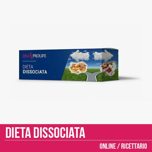 Dieta dissociata online per uno tre o sei mesi, con oltre 300 ricette gratuite!