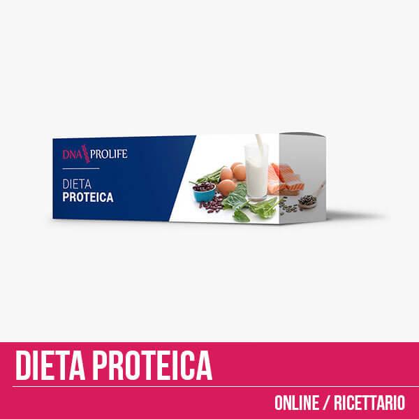 Dieta proteica online per uno tre o sei mesi, con ricettario!
