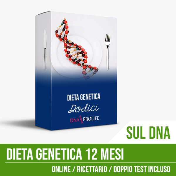 Dieta Genetica DNA 12 Mesi